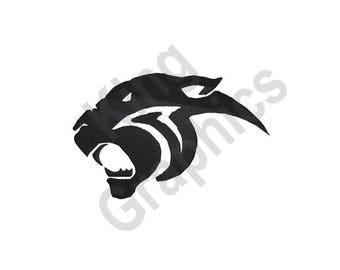 Panther - Machine Embroidery Design, Jaguar, Mascot