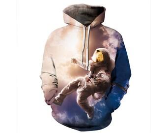 Galaxy Hoodie, Galaxy Sweatshirt, Galaxy, Galaxy Jumper, Galaxy Hoodies, Space, Space Hoodie, 3d Hoodie, 3d Hoodies, Hoodie - Style 66