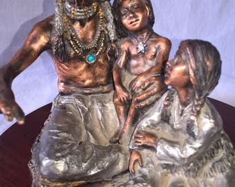 C.A. Pardell Legends Storyteller Sculpture 365 of 950