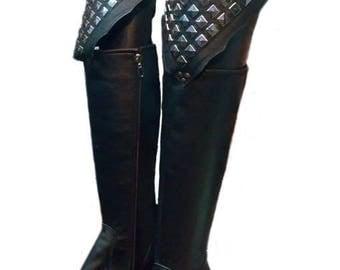 Kiss replica platform boots