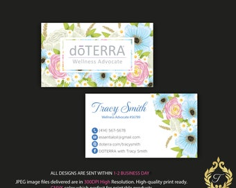 Doterra business cards | Etsy