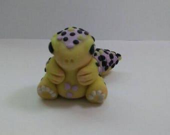 Clay leopard gecko