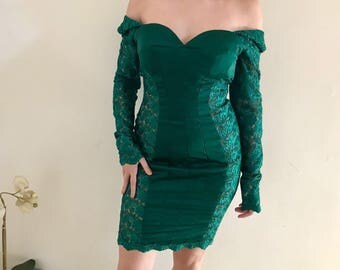 New Sexy tailored lace short dress