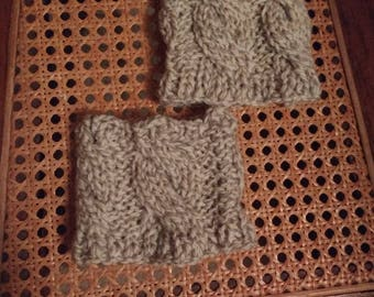 Cable boot cuffs