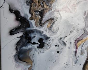 Abstract Acyrlic Art
