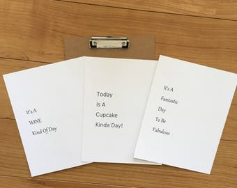 Clip Board with 3 Quote Pages