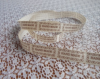 Label ribbon HANDMADE