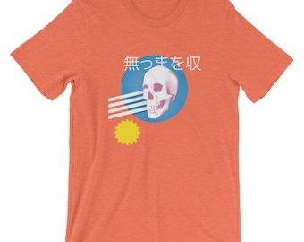 Vaporwave Skull Shirt - Aesthetic - Astro - Vapor - Abstract - Ambient - Tumblr - Glitch - Vapourwave - Wave - Retro - Wavy