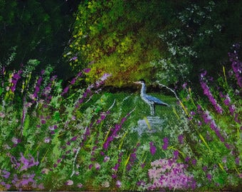 Original Acrylic Painting by Ida Harshaw