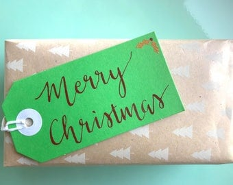 4 Pack Christmas Gift Tags