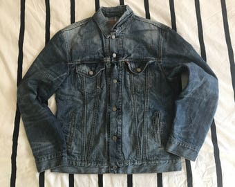 Levi's Denim Jacket (with flannel lining)