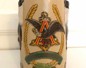 Vintage Anheuser Busch / Bud Light Clydesdale Stein