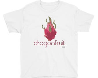 Dragonfruit 2 T-Shirt - Kids - Foodie - Chef - Organic