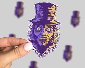 Forever midnight Sticker, Horror Sticker, Horror Car Sticker, Monster Sticker, Retro Sticker, Friday the 13th, 90s sticker