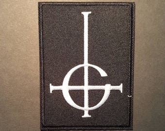 Ghost Iron On Band Patch