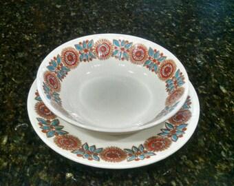 Figgjo Flint - Turi design Astrid Norway - bowl and salad plate