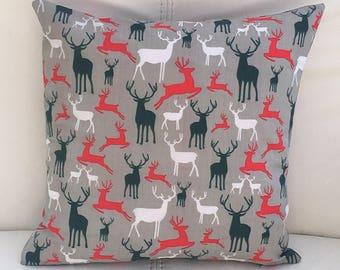 Winter Reindeer Cushion Cover 30 x 30 cm