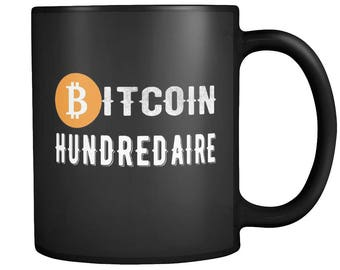 Bitcoin Hundredaire Cryptocurrency Moon HODL Funny Coffee Tea Mug | HODL It to the Moon!