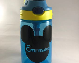 Personalized Spill-proof  Water Bottles for Kids