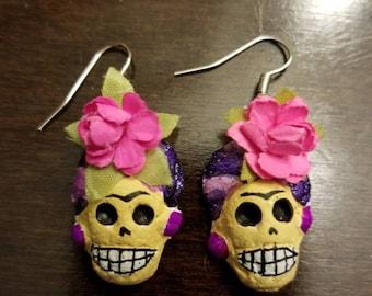 FRIDA KAHLO catrina earrings