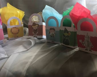 Wizard of Oz Favor Bags, Wizard of Oz Goodie Bags, Wizard of Oz Party Decorations .