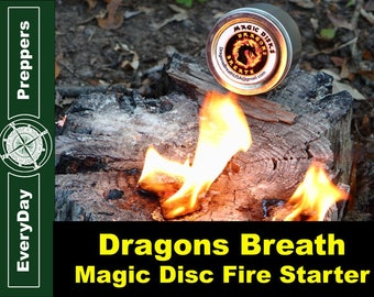 Dragons Breath Fire Starter Disc
