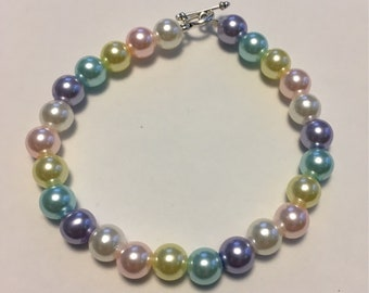 Easter egg colors bracelet