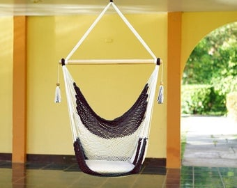 Dark Brown Hammock Chair