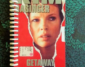 The Getaway VHS Box Handmade Spiral Notebook -  italian edition - 1994 - Kim Basinger
