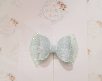 lace baby blow hair bow