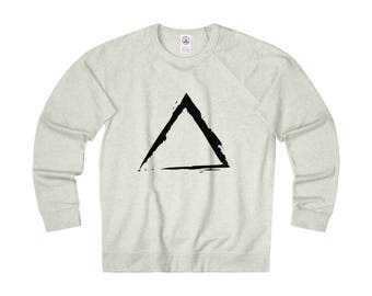 Masculine Triangle French Terry Crew