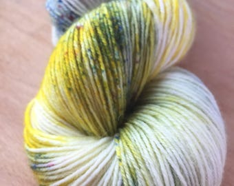 Budgie - Funky Fingering - Hand Dyed Sock Yarn - 400m/100g