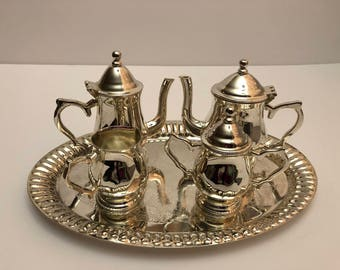 Sheridan Silverplated Mini Tea Set 5 Pc