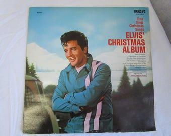 Elvis Presley / Elvis' Christmas Album  / Vinyl LP / RCA Camden / CCMI-0411 / Mono