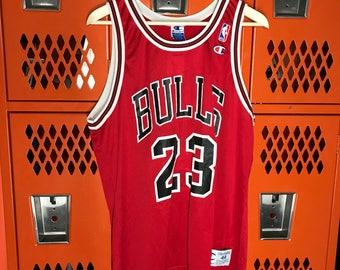 Vtg Michael Jordan Chicago Bulls Champion Jersey