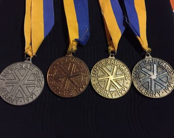Four Medals from the Empire State Games