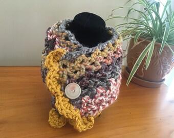 Unique Crocheted Neck Warmers