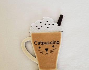 Catpuccino catnip toy