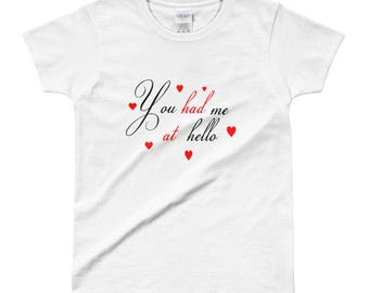 Ladies valentine's  T-shirt