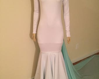 Mint To Be White Wedding Dress