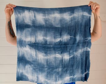 Organic Cotton hand-dyed Baby Swaddle