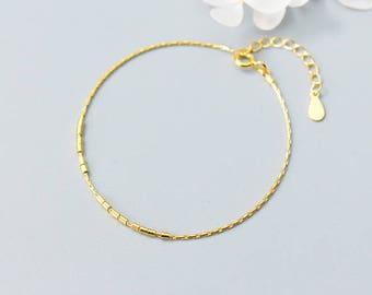 Tiny ball bracelet