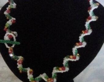 Sonoko Wave Beaded Necklace