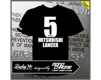 T-shirt Mitsubishi Lancer Evolution V CP9A 4G63