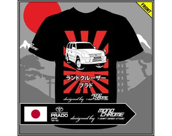 T-shirt Toyota Land Cruiser Prado J95W '99-'02