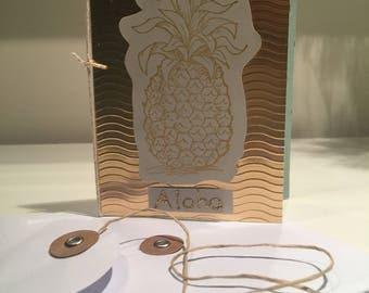 Aloha gold Pineapple, Card