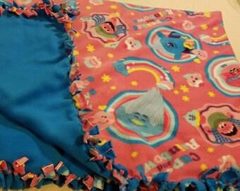 Trolls Double Lined Fleece Blanket