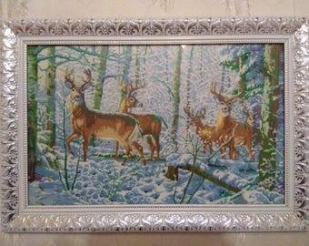 """Painting """"Deer"""" 2"""