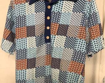 Vintage 1970s Hang Ten Collared Shirt