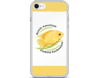 Severum Cichlid iPhone Case - Aquarium Fish Lover iPhone Case - South American Cichlid Enthusiast